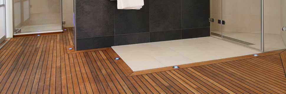 Holzboden oder Parkett fürs Badezimmer? Ein Traumbad gefällig?